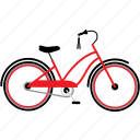 bicycle, bicycles, bike, bikes, city bike, cruiser, travel icon
