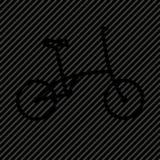 bicycle, bike, folding, ride, transport, travel icon