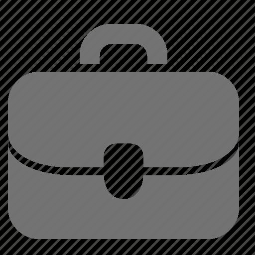 briefcase, business, job, leather, office, portfolio, work icon