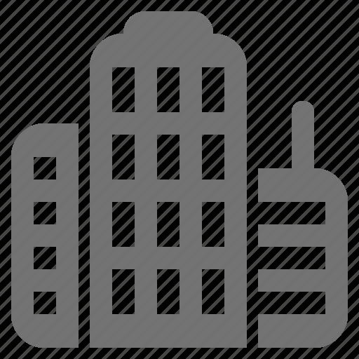 business, cityscape, corporation, office building, skyscraper, tower icon