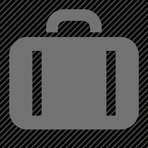 briefcase, luggage, portfolio, suitcase, travel icon