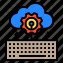 cloud, data, document, file, storage icon