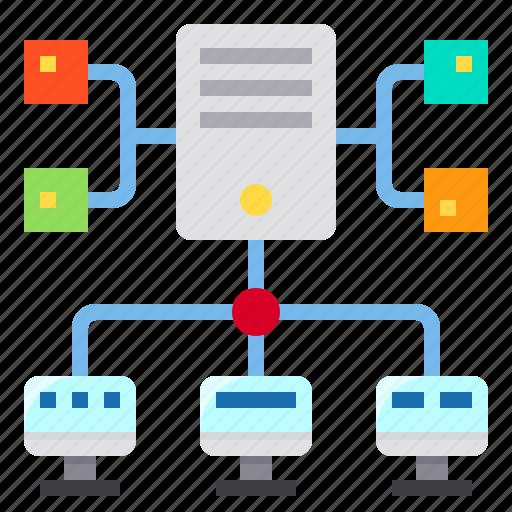Connection, data, network, server, storage icon - Download on Iconfinder