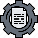 analyst, analytics, data, information, optimization icon