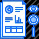 analyst, analytics, big, data, monitoring, search, statistics icon