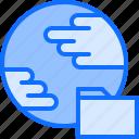 3, analyst, analytics, big, data, folder, global, planet icon