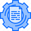 analyst, analytics, big, data, information, optimization icon