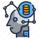 artificial, automation, intelligence, learning, machine icon
