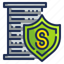 check, lock, protection, safety, security icon