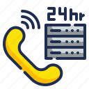 telephone, customer, service, supports, help icon