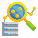 analysis, analytics, data, screen, stats icon