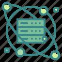 analytics, data, education, report, science icon