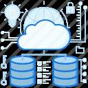 cloud, data, network, rack, server, storage, transfer