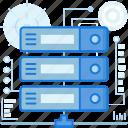 connect, data, database, network, server, sharing, storage icon