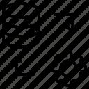 bigdata, setting, arrow, configuration, server