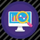 analytics, data, diagram icon