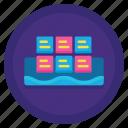 data, lake, storage icon