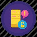 data, leak, storage icon
