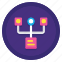 data, modelling, storage icon