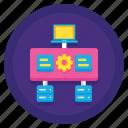 data, server, virtualization icon