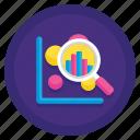 analysis, data, exploratory icon