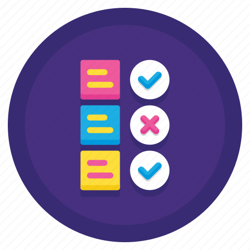 data, feature, selection icon