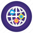 data, iot, server icon