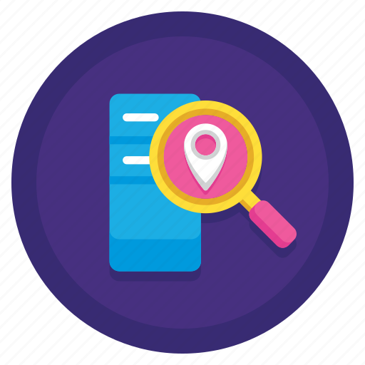 data, location, storage icon