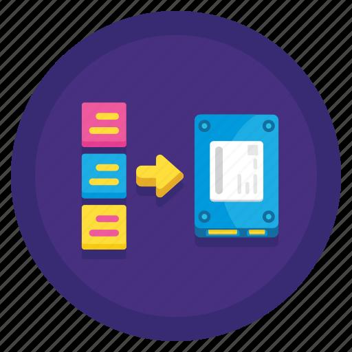 data, persistent, storage icon