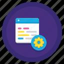 data, regression, server, testing icon