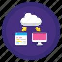 data+, database, saas icon