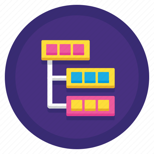 data, server, taxonomy icon