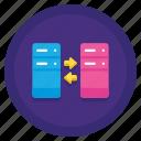 data, storage, transactional icon