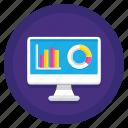 data, database, visualization icon