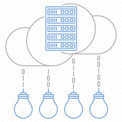 big data, database, innovation, server, technology icon