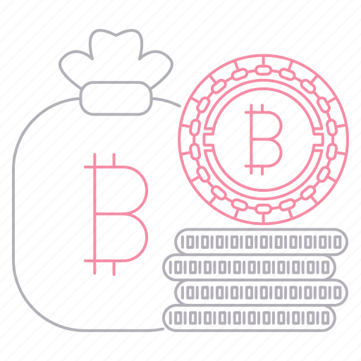 bitcoin, cash, cryptocurrency, digital, technology icon