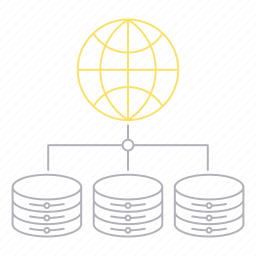 big data, database, server, technology, volume icon