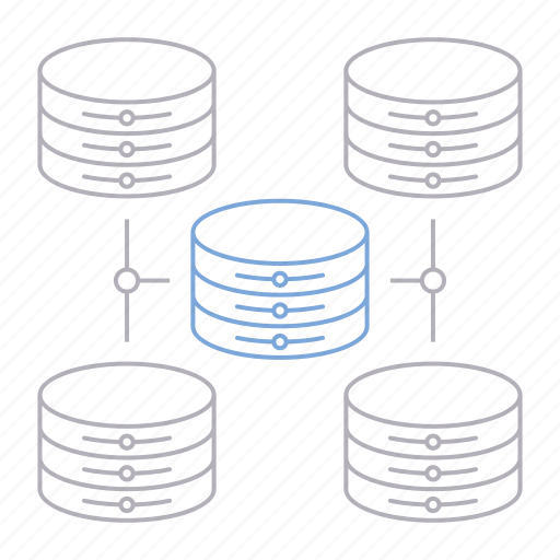 big data, database, scalability, server, technology icon