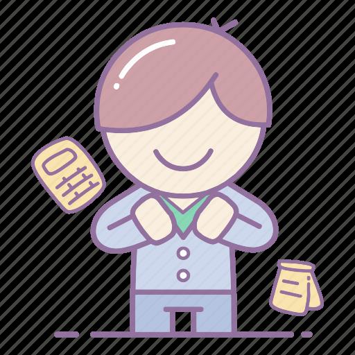 action, business, businessman, finance, marketing, professional, success icon