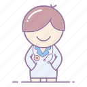 action, doctor, healthy, hospital, nurse, professional, surgeon icon