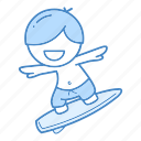 action, beach, ocean, sport, summer, surf, surfer icon