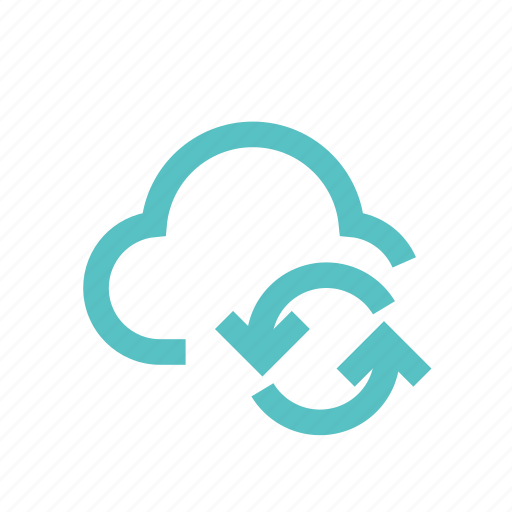 cloud, download, exchange, repository, server, sync, update icon