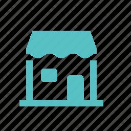 home, hostel, hotel, house, hut, shop icon