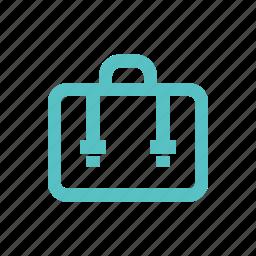 baggage, business, case, documents, portfolio, private, suitcase icon