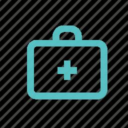 business, case, documents, medicine chest, portfolio, private, suitcase icon
