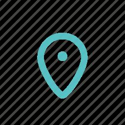 destination, label, mark, point, tag icon