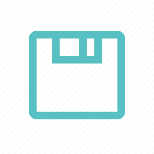 diskette, drive, floppy, guardar, memory, save icon
