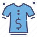 business, clothes, discount, fashion, price, sale icon