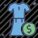 business, discount, dress, fashion, price, sale icon
