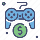 console, discount, game, play station, sale icon